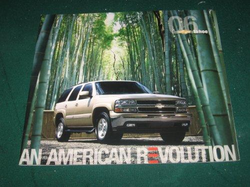 (2006 Chevy Tahoe Dealer Sales Brochure)