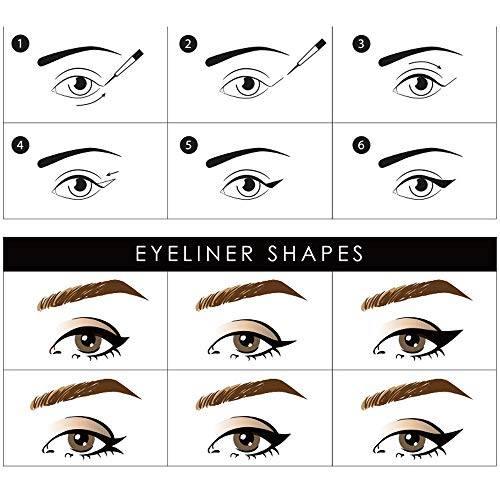 Alivin Magnetic Eyeliner, Liquid Eyeliner, Magnet Eyelash Special Eyeliner Long Lasting Waterproof Eyelash Makeup(4ML), Use with Magnetic Eyelashes
