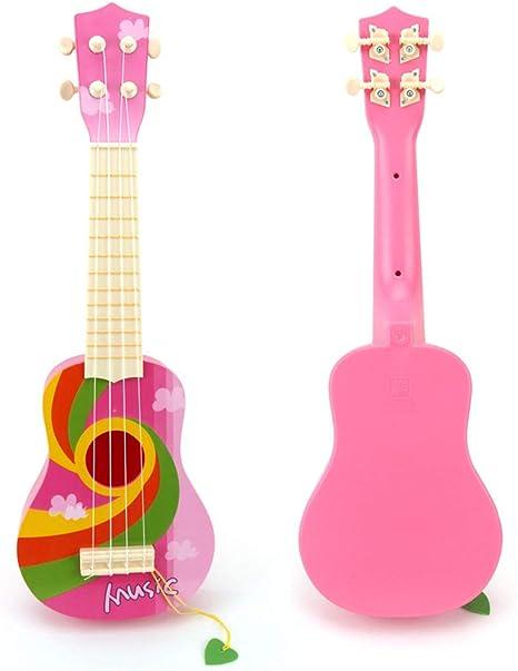 Foxom Guitarra Niños Infantil Guitarra Ukelele con púas ...