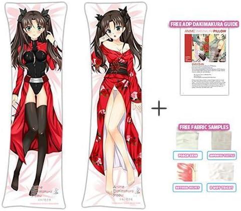 Anime Fate Stay Night Tohsaka Rin Dakimakura Hugging Body Pillow Case Cover