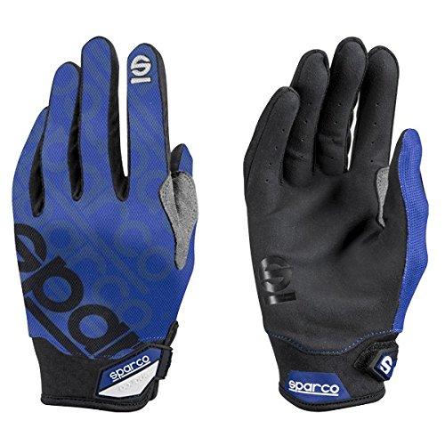 (Sparco Meca 3 Mechanics Glove 002093 (Size: X-Large, Blue) )