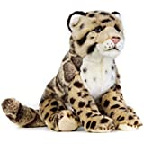 National Geographic Clouded Leopard Plush, Made of Polyester | Includes a Special Hang Tag Showing the Animals Fun Facts