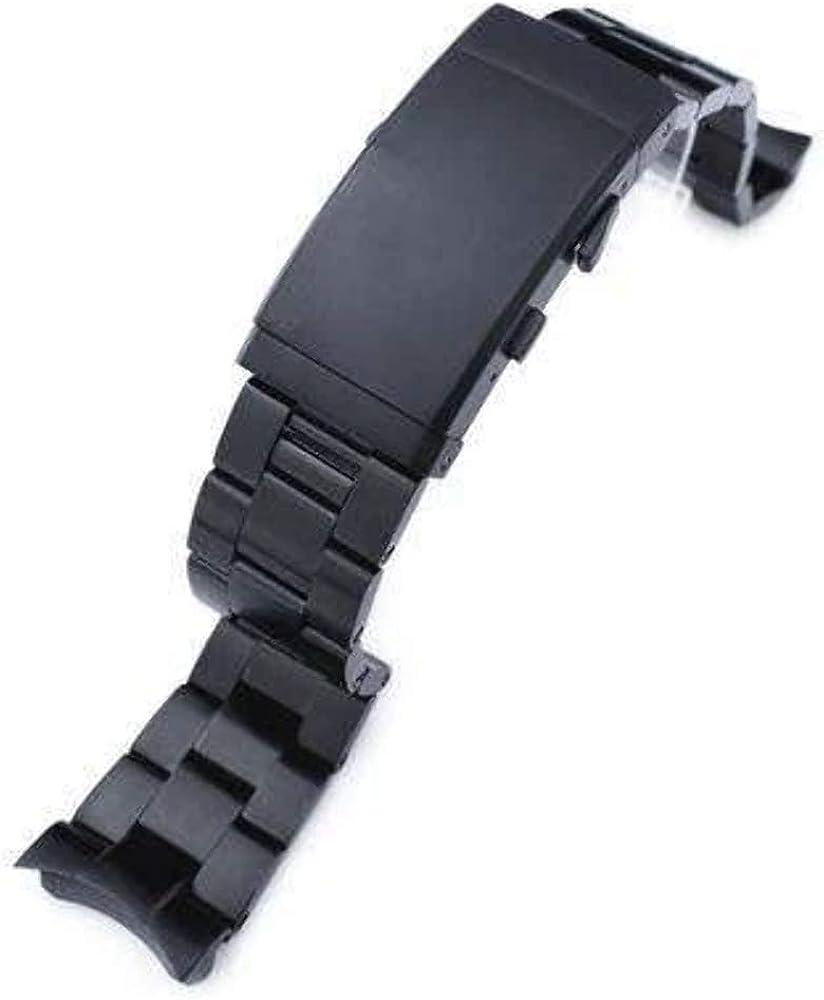 Banda de Reloj Strapcode 22mm Super Oyster para Seiko Diver SKX007 ...