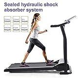 shaofu Electric Treadmill Portable Folding Treadmills Walking Machine Fitness Trainer Equipment (US STOCK)