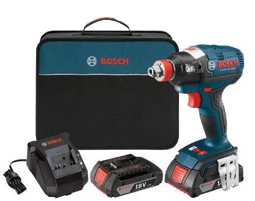 Bosch IDH182-02 18-Volt Brushless Socket Ready (1/4-Inch Hex, 1/2-Inch Square) Impact Driver with (2) 2.0Ah Batteries, Charger and Case Review