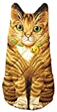 Kitten Oven Mitt, Quilted Cotton, Designed for Light Duty Use, by Boston Warehouse