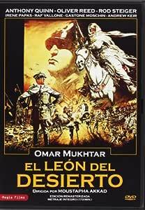 El León Del Desierto [DVD]: Amazon.es: Anthony Quinn