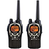 Midland GXT1000VP4 Ear -Mic/Charger/2 Radios, 5W, 36 MI, FRS/GMRS 50 CH