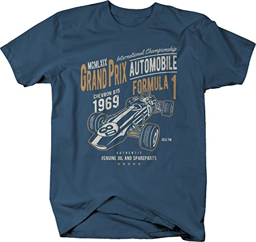 M22 Grand Prix Racing 1969 Vintage Formula 1 Tshirt - Large