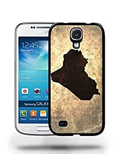 Iraq National Vintage Country Landscape Atlas Map Phone Case Cover Designs for Samsung Galaxy S4