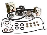 93 honda prelude timing belt - Evergreen TBK226VCT 93-01 2.2L Honda Prelude VTEC H22A1 H22A4 Timing Belt Kit Valve Cover Gasket Water Pump