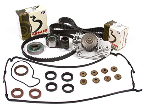 Evergreen TBK226VCT Fits 93-01 2.2L Honda Prelude VTEC H22A1 H22A4 Timing Belt Kit Valve Cover Gasket Water ()
