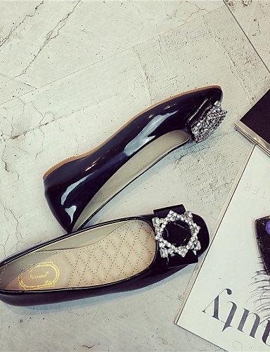 vestido 5 cn40 uk6 pie Flats us8 cerrado Ballerina dedo Toe negro zapatos mujer cuadrado PDX eu39 5 plano de gris de talón Burgundy del black wBSRnxq6zf