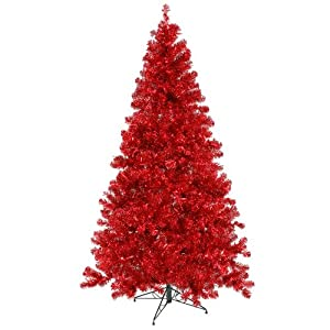 Amazon.com: Vickerman Pre-Lit Sparkling Artificial Christmas Tree ...
