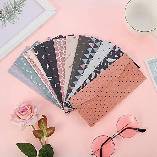 FANGDAHAI Briefpapier Supplies South Korea's Creative Writing Paper Envelope Suit Small Pure Fresh Romantic Flowers Lovely Letter Letter Papers Envelopes