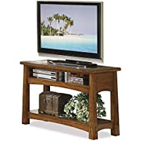 Craftsman Home Console Table in Americana Oak Finish