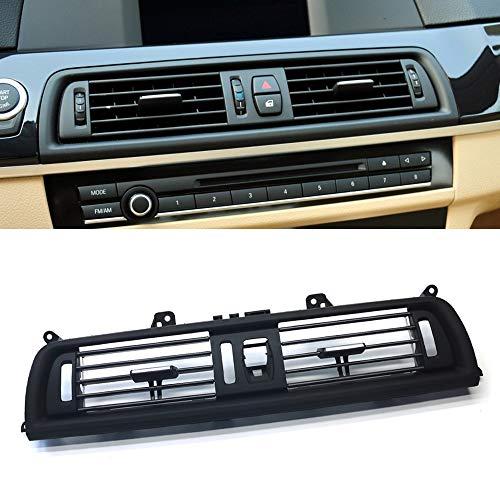 FEXON Interior Central Air Vent Dashboard Console Center AC Ventilation for BMW 5 Series 520 523 525 528 530 535 550 2010-2016