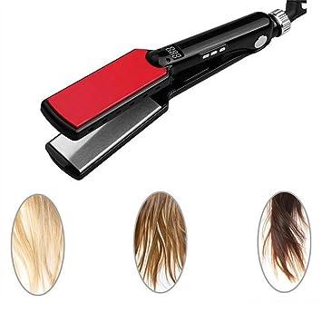 Amazon com : Hair Straightener High Temperature Wide Plates Keratin