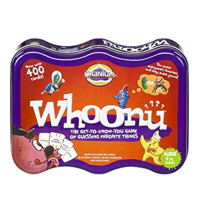 Cranium Whoonu Tin Edition: Toys & Games