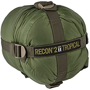 Elite Survival Systems ELSRECON2-OD Recon 2 Rated to 41 Degree Fahrenheit Sleeping Bag, Olive Drab