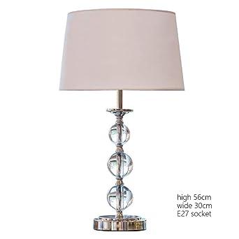Lámpara de mesa Lámparas de noche de lujo para el dormitorio Sala ...