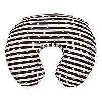 Danha Nursing Pillow Slipcover (Gold dot & stripe)