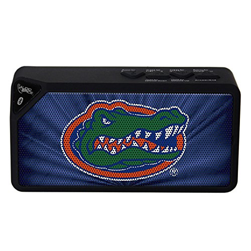 (AudioSpice NCAA Florida Gators BX-100 Bluetooth Speaker,)