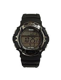 Basile M8820ACB Reloj Analógico para Hombre, Redondo, Negro
