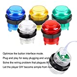 Avisiri 2 Player led Arcade Buttons and Joystick
