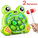 Bu-buildup Whack a Frog Activity Game, Early Development Toy with Light and Sound, Baby Interactive Fun Toy, Gift for Kids Age 3, 4, 5, 6, 7