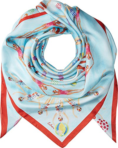 Echo Design Women's Sync Or Swim Silk Square Multi One Size by Echo Design