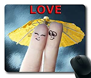 Nice Love Great Design Rectangle mouse pad by Custom Service Your Best Choice by runtopwell