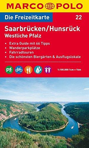 Marco Polo Freizeitkarte Hunsrück MAIRDUMONT 3829736215 Rheinland-Pfalz