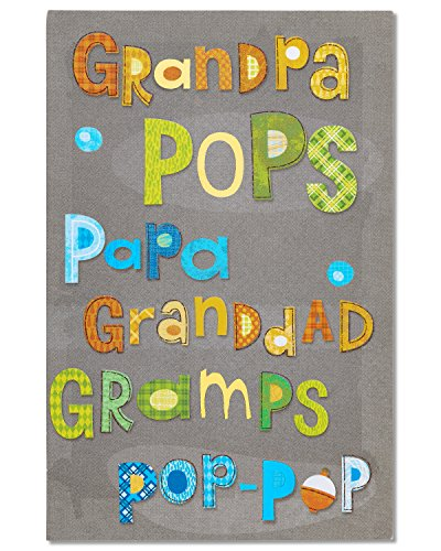 American Greetings Love Father's Day Card for Grandpa with Foil (5873423)