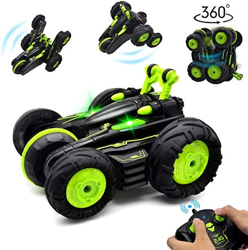 4WD 2.4Ghz Remote Control Car Fancy Double Sided Rotating Vehicles 360/° Flips Kids Toy Cars for Boys /& Girls Birthday with 1 Rechargeable Battery BIBIELF RC Cars Stunt Car Toy