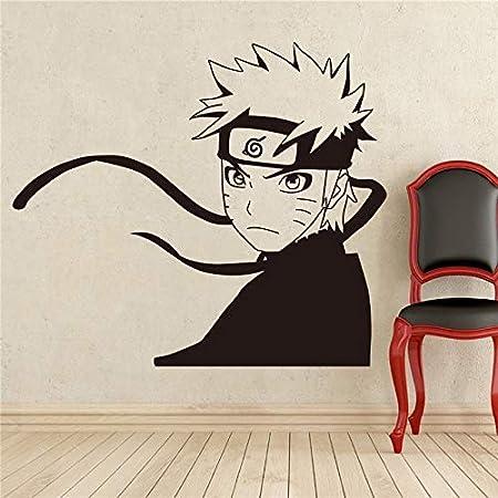 Manga Japonés Tatuajes De Pared Naruto Etiqueta De Vinilo De Pared ...