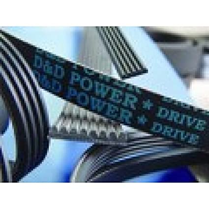 D&D PowerDrive 6PK2440 METRIC STANDARD Replacement Belt  Rubber