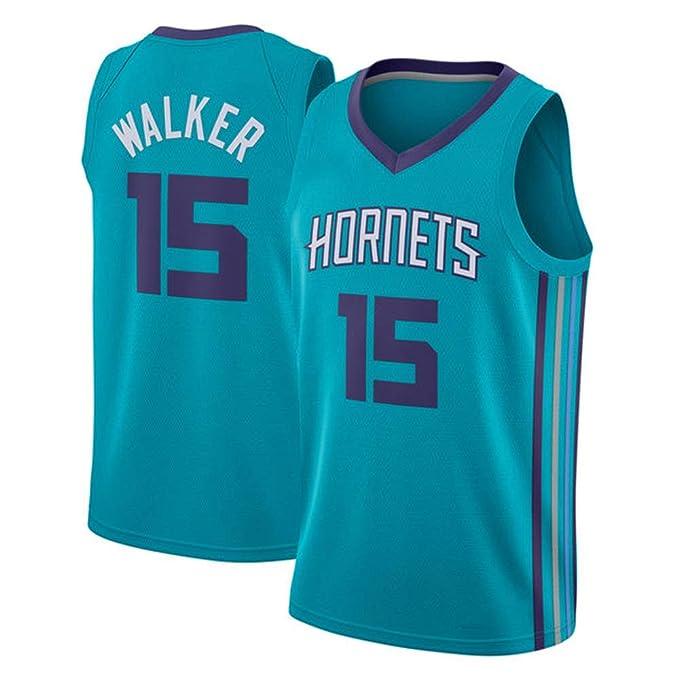 Charlotte Hornets Kemba Walker # 15 Jersey - Conjunto clásico sin ...