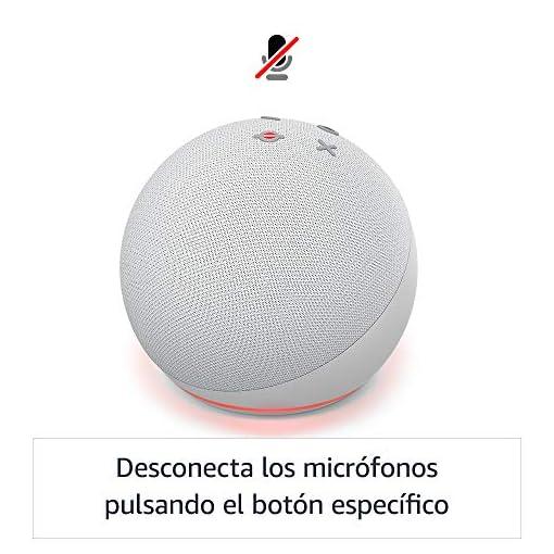 Nuevo Echo Dot (4.ª generación) | Altavoz inteligente con Alexa | Fabricado con controles de privacidad | Blanco