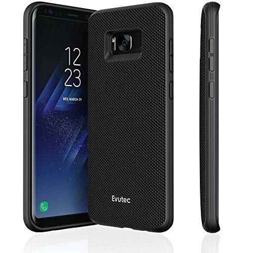 Evutec AERGO Ballistic Nylon Series Case for Samsung Galaxy S8+ - Black