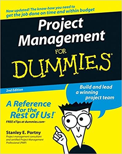 Amazon com: Project Management For Dummies (9780470049235): Stanley