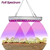LED Grow Light Bulbs, Juhefa 25W Grow Lamp with Panel Full Spectrum Plant Light for Indoor Plants All Growing Stage, Garden, Greenhouse,Hydroponics