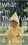A fun Thanksgiving story poem for children.