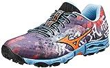 Mizuno Women's Wave Hayate Trail Running Shoe,Purple Plumeria/Ceresia,6.5 B US