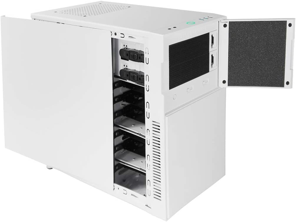 Deep Silence 4 Mini Tower Micro ATX Case Limited Edition Championship White