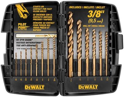 DEWALT DW1263 Cobalt Drill Bit Set
