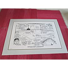 "CROSLEY FIELD REDS (22""x16"") PRINT HOME OF THE REDS UNTIL 1970 -PINSON, ROBINSON, KLU, ETC."