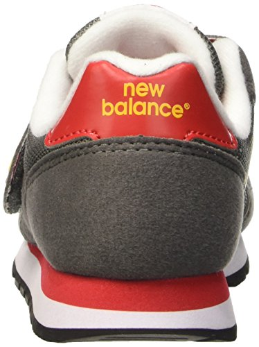New Balance Nbkv373top, Zapatillas de Gimnasia Unisex Niños Gris / Naranja