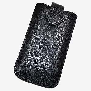 Funda de piel Para Play negro XXL para Huawei Ascend D1