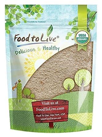 Food to Live Harina de espelta entera Bio certificada (Eco, Ecológico, no OGM, a granel) (12 Libras): Amazon.es: Alimentación y bebidas
